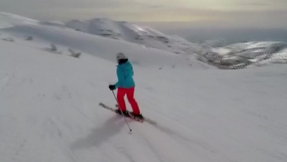 Impresionante registro: Esquiadores graban intercepción de un misil sirio por parte de Israel
