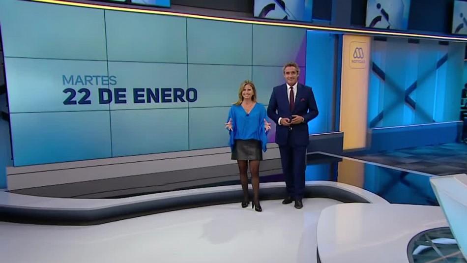 Ahora Noticias Central 22 de enero
