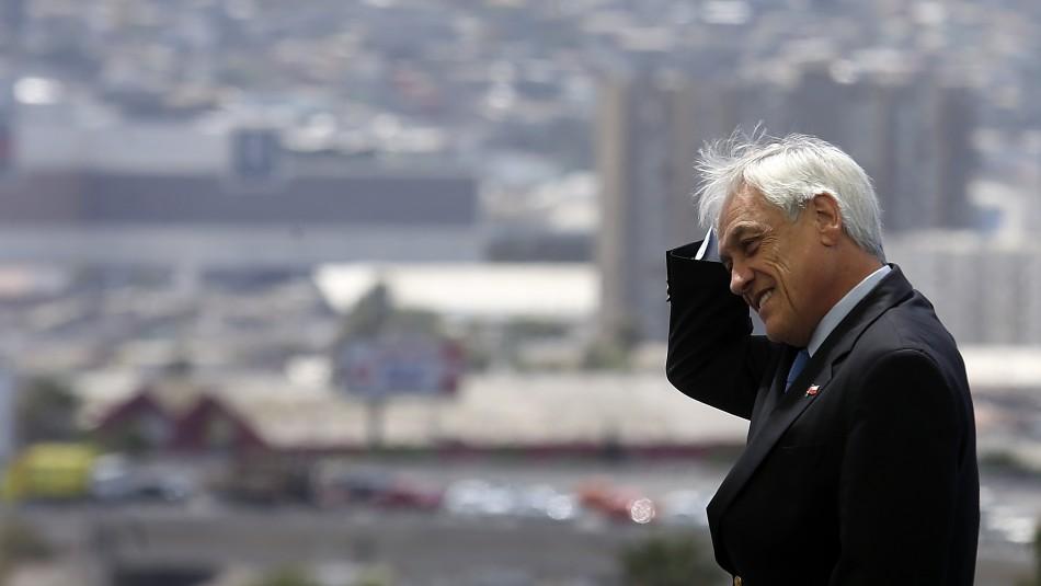 Presidente Sebastián Piñera / Agencia Uno