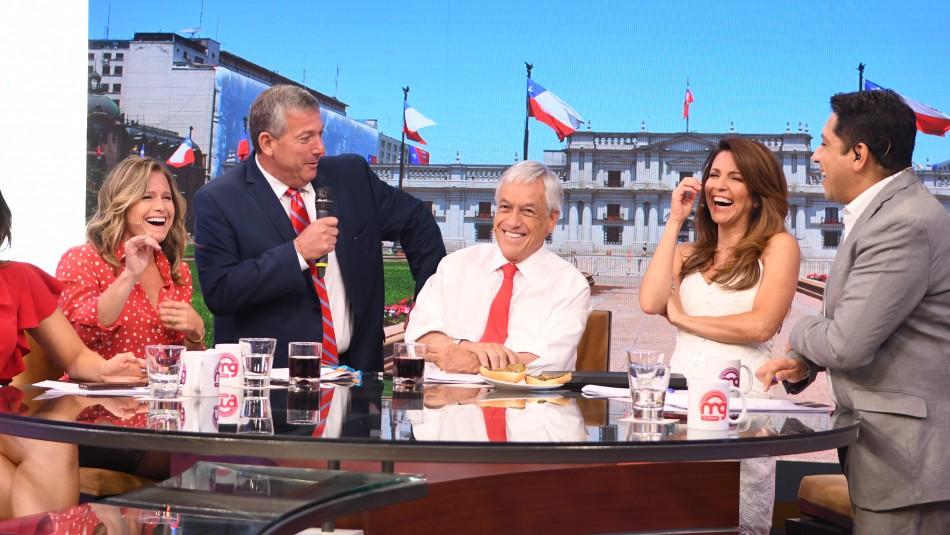 Entrevista completa del Presidente Sebastián Piñera en Mucho Gusto