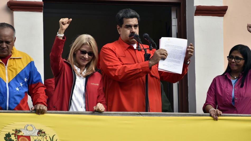 Nicolás Maduro asegura que se mantendrá al mando de Venezuela:
