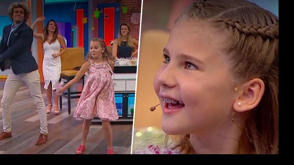 [VIDEO] Joaquín la rompe bailando con hija de Patricia Larraín