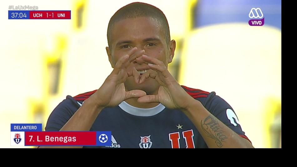 Leandro Benegas anotó para la U. / AhoraNoticias.cl