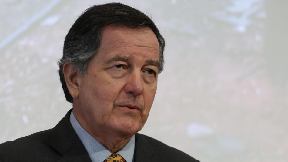 Roberto Ampuero, ministro de Relaciones Exteriores / Agencia Uno