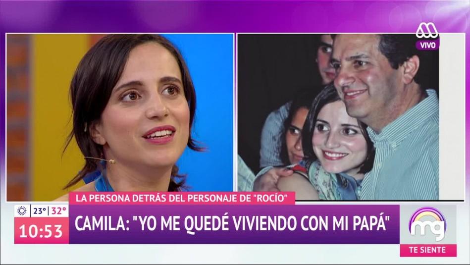 Camila Hirane habla de la difícil separación de sus padres:
