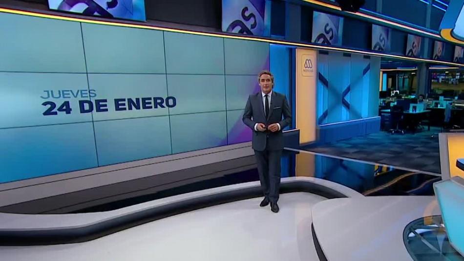 Ahora Noticias Central 24 de enero