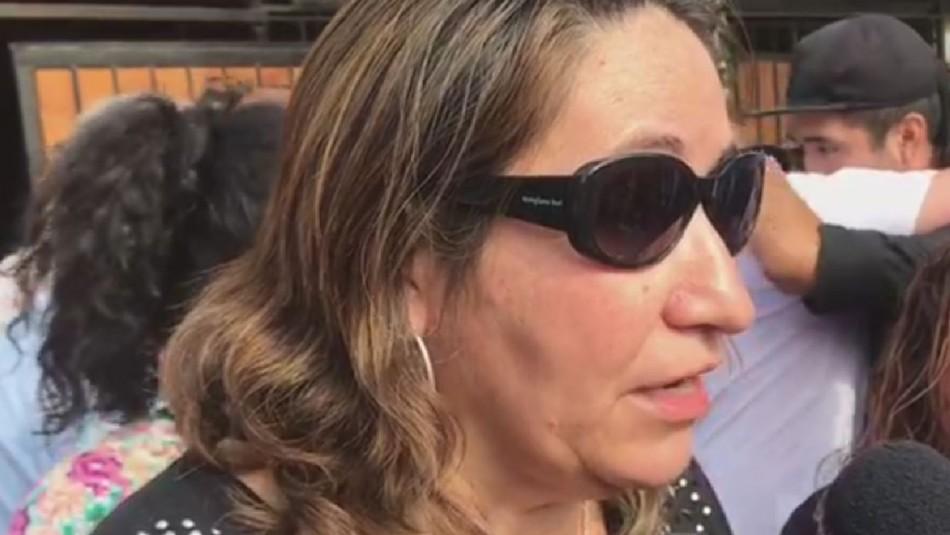 Madre de joven fallecido en portonazo: A un hijo de diputado o senador no le sucede lo que a mí