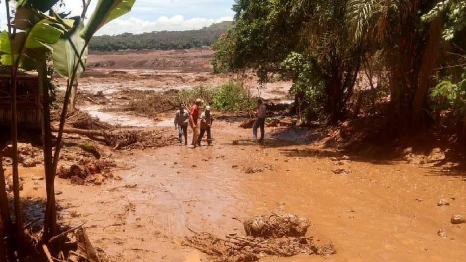 Ruptura de dique minero en Brasil deja gran cantidad de fallecidos