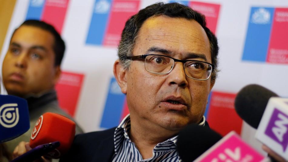 El intendente de Valparaíso, Jorge Martínez. / AgenciaUno