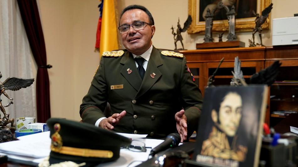 El Coronel José Luis Silva / Reuters.