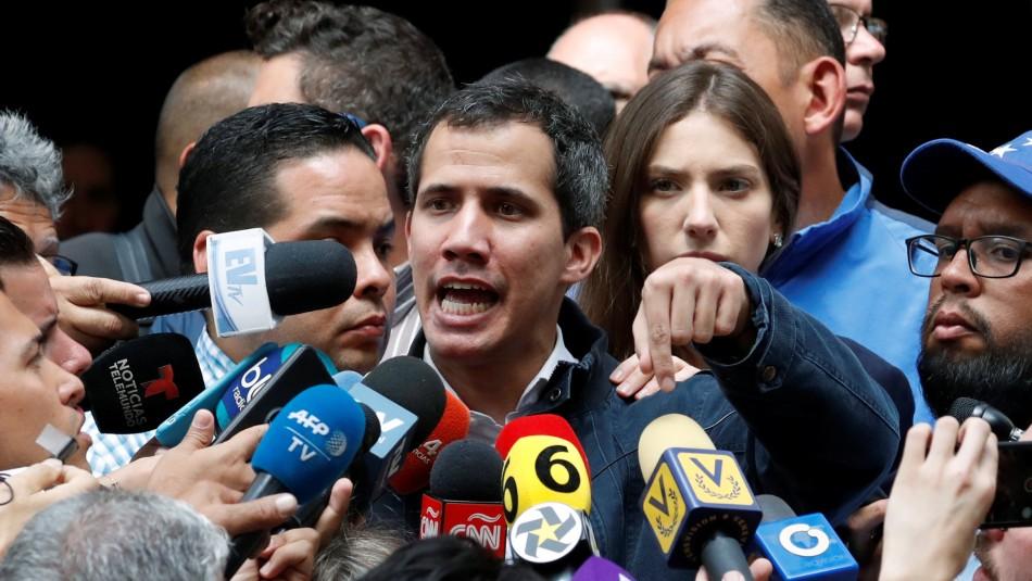 Juan Guaidó. / Reuters