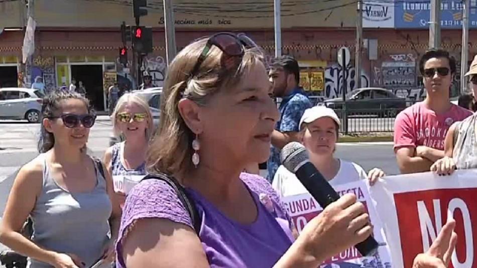 Vecinos de Ñuñoa y La Reina protestan contra megaproyecto inmobiliario