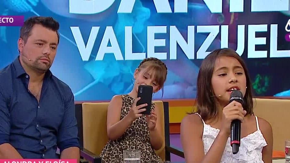 Daniel Valenzuela se emocionó al presentar a sus hijas en Mucho Gusto