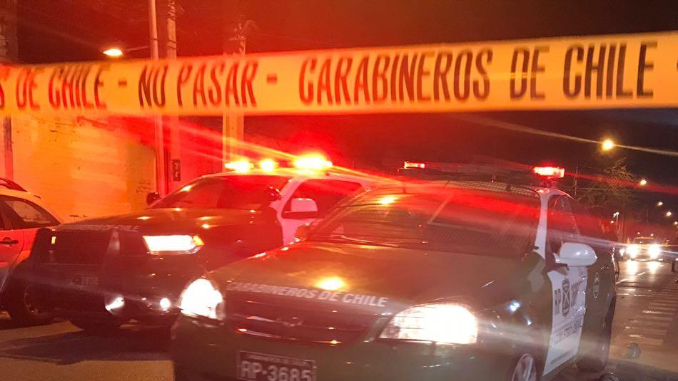 Persecución termina con seis detenidos tras tour delictual en Quilicura y Pudahuel / Referencial Agencia UNO.