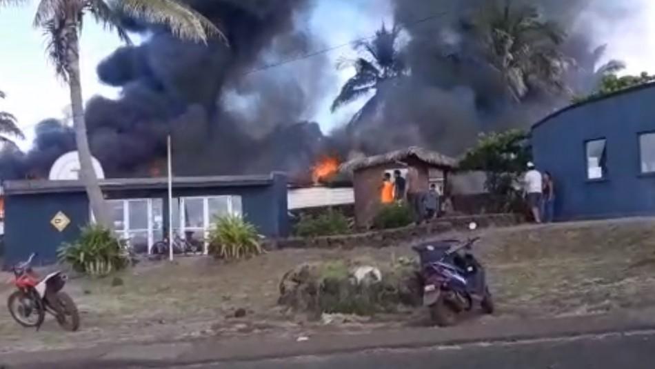 Alcalde de Rapa Nui tras asesinato e incidentes: Eso pasaba antes