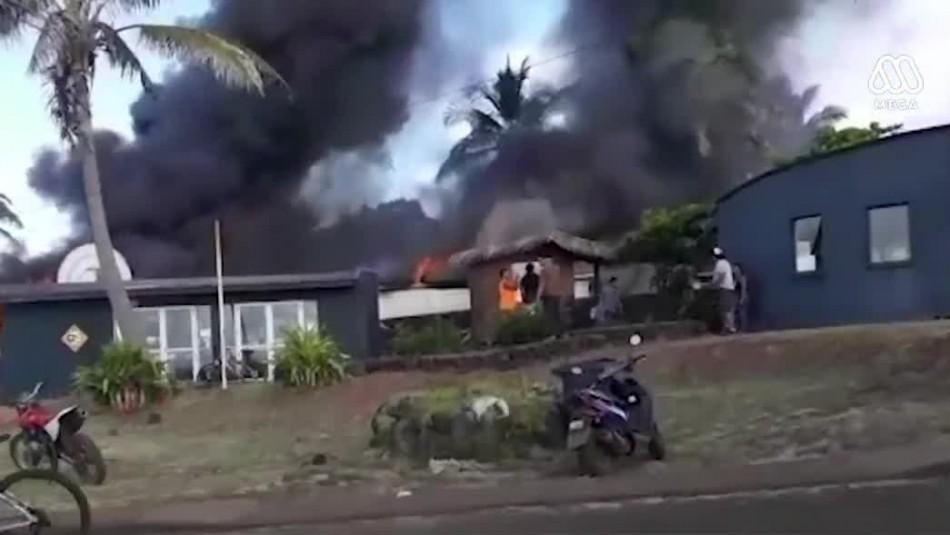 Corte Suprema exige mayor seguridad en tribunales tras incidentes en Rapa Nui