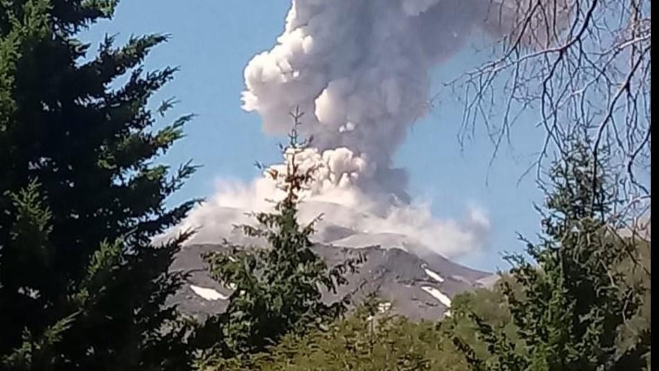 Complejo Volcánico Nevados de Chillán intensifica su actividad con nuevo pulso