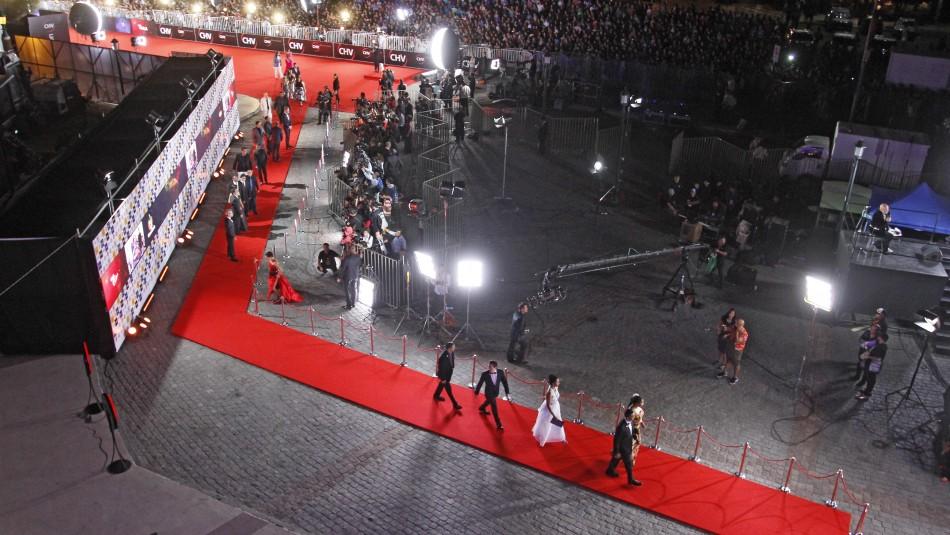 La Gala se realiza en el Casino de Viña del Mar/Agencia Uno