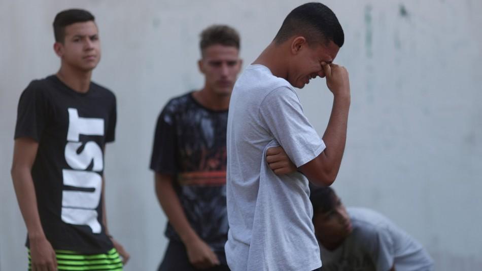 Incendio afectó a Flamengo. / Reuters