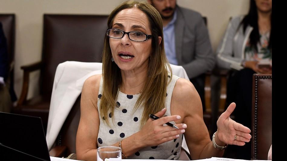 Ministra de la Mujer, Isabel Plá. /Agencia Uno