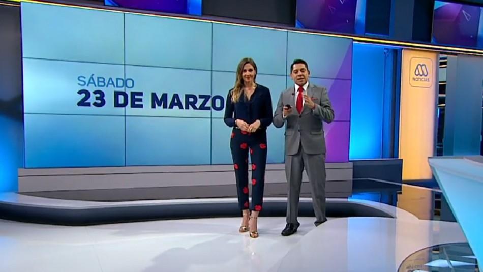 Ahora Noticias Central 23 de marzo