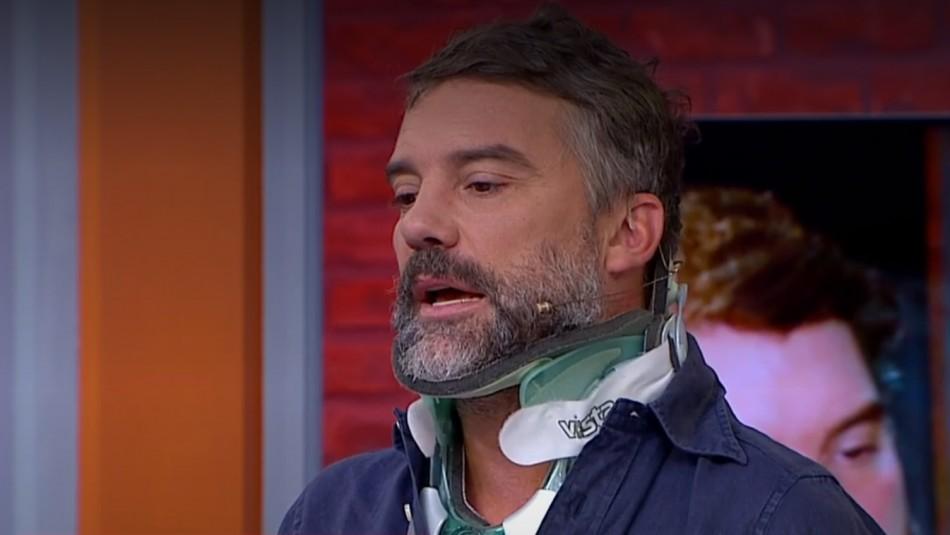 [VIDEO] Diego Muñoz tras grave accidente en moto:
