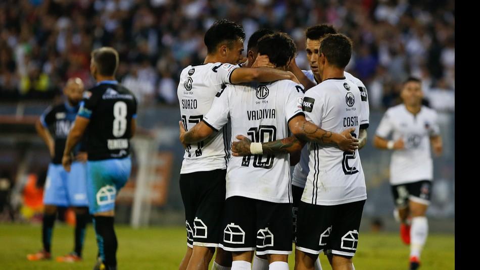 Colo Colo juega en Quito. / Agencia Uno