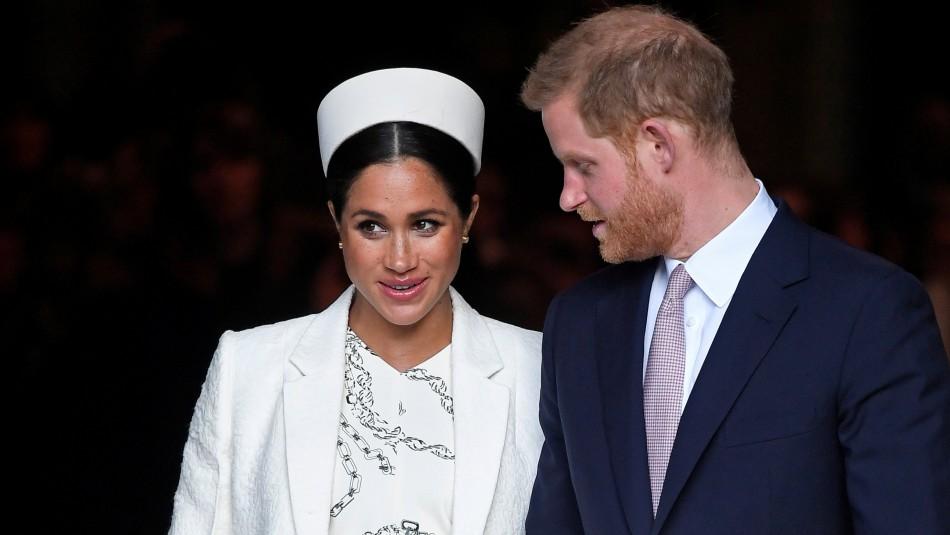 Meghan y Harry / Reuters