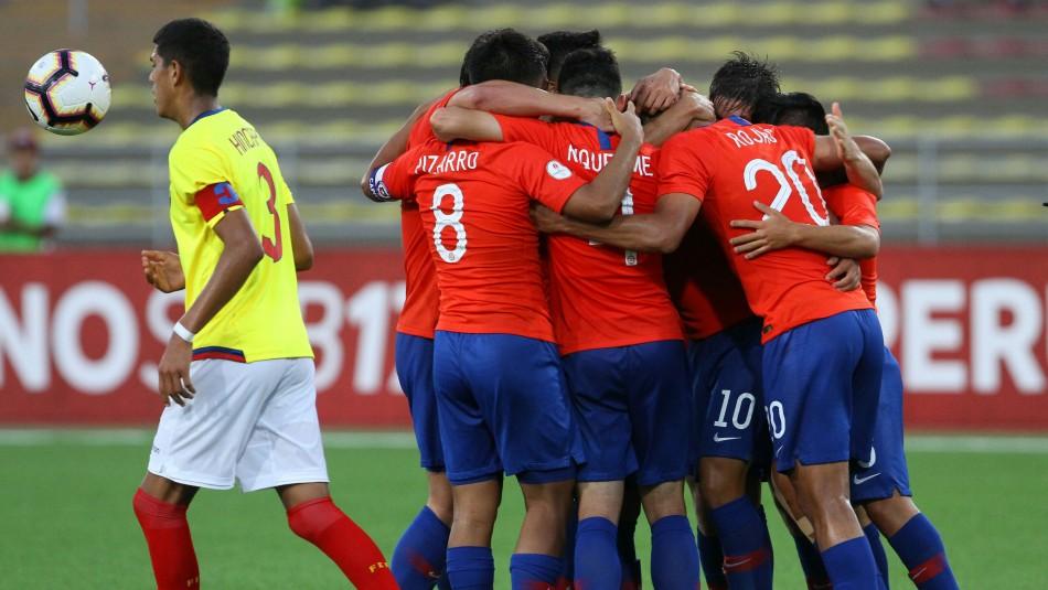 Chile derrotó a Ecuador / AgenciaUno.