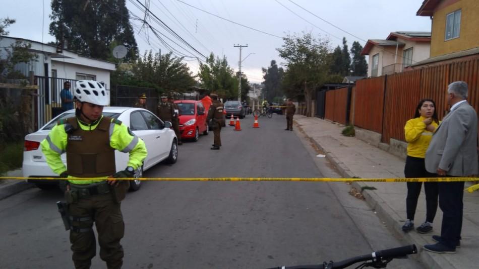 Dos hombres muertos en Quilpué