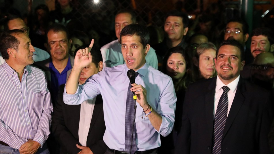 Juan Guaidó tras ser despojado de su inmunidad parlamentaria / Reuters.