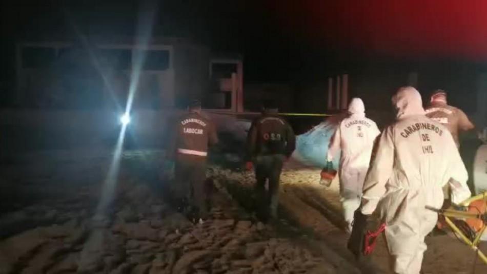 Encuentran cadáver en construcción abandonada de Antofagasta / Captura video.