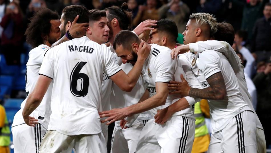 Real Madrid juega en el Mestalla. / Reuters