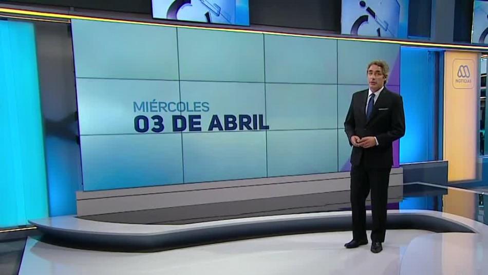 Ahora Noticias Central 3 de abril