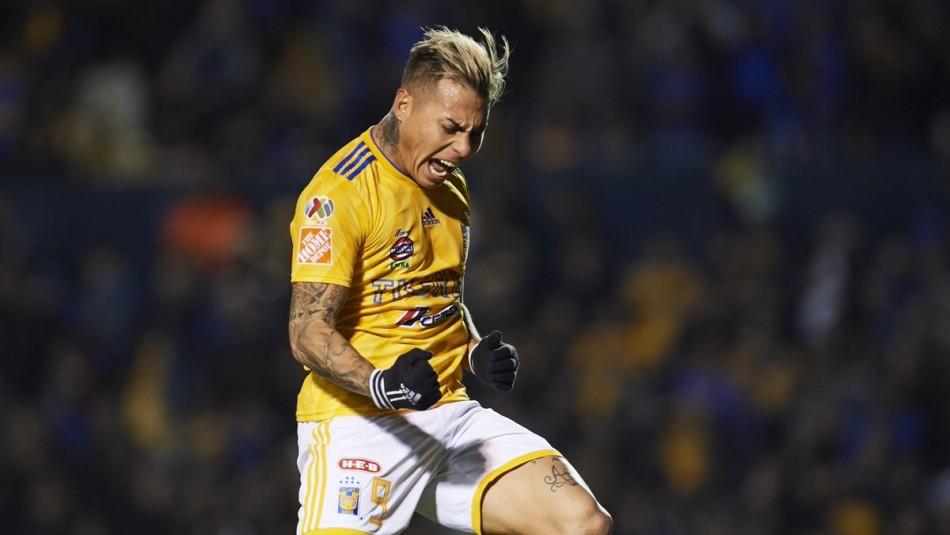 Eduado Vargas anotó en México. / Tigres