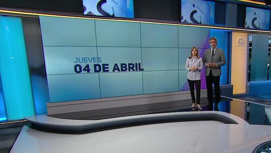 Ahora Noticias Central 4 de abril
