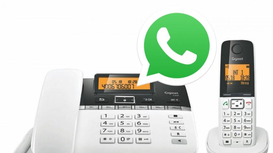 Descubre cómo usar WhatsApp con el número de un teléfono fijo / Referencial Agencia.