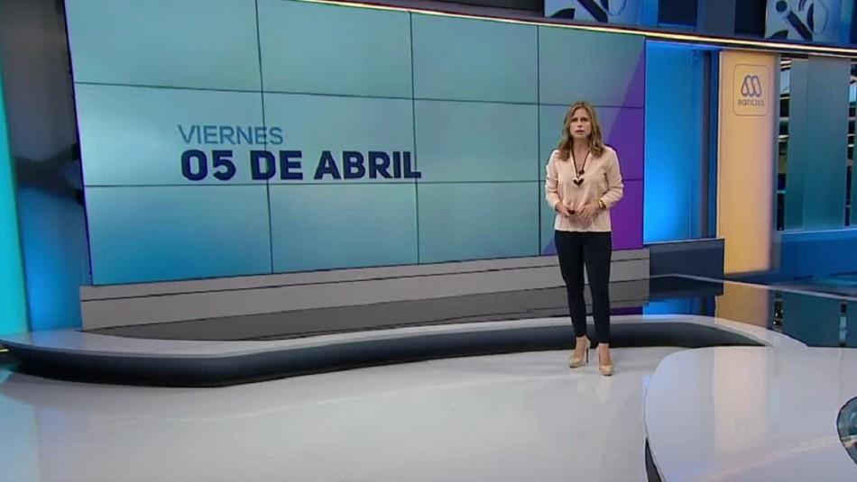 Ahora Noticias Central 5 de abril