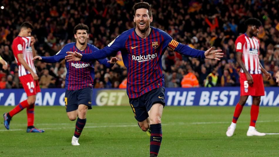 Messi volvió a marcar / Reuters.