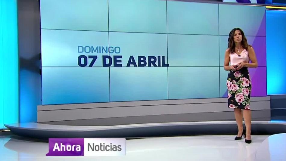 Ahora Noticias Central 7 de abril