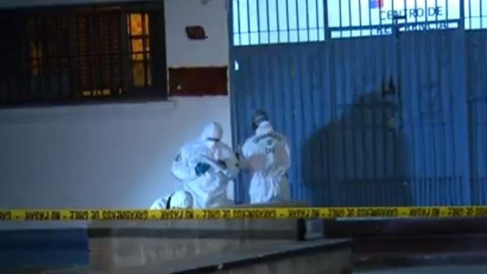 Indagan homicidio en casa de acogida de Quinta Normal