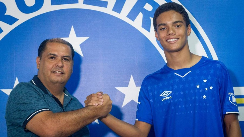 Joao Mendes busa emular a su padre. / Cruzeiro