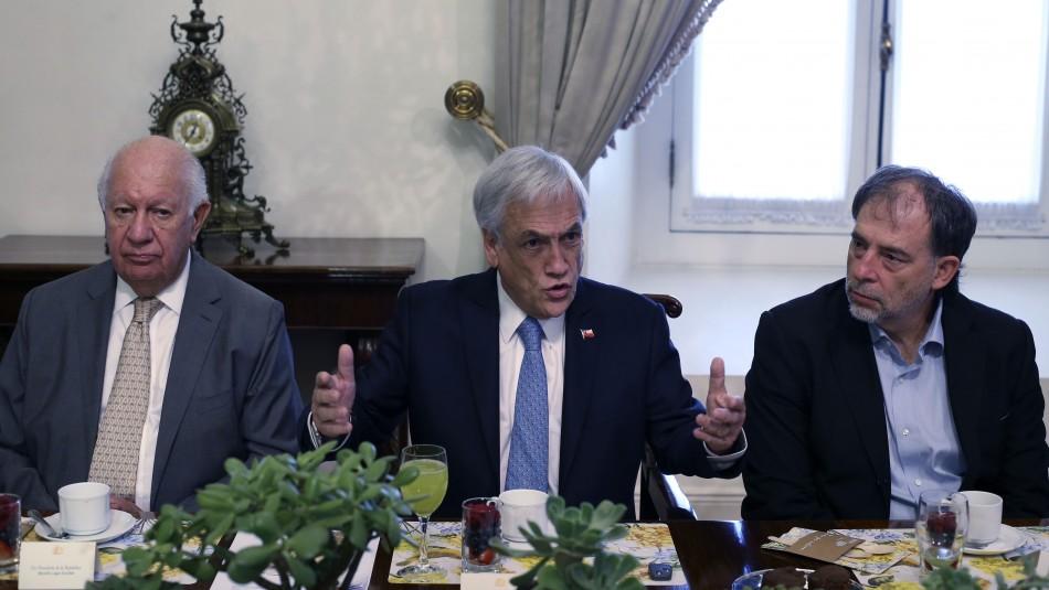 Piñera presenta comité para cumbre COP25: