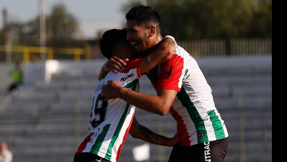Palestino busca celebrar en Brasil. / Agencia Uno