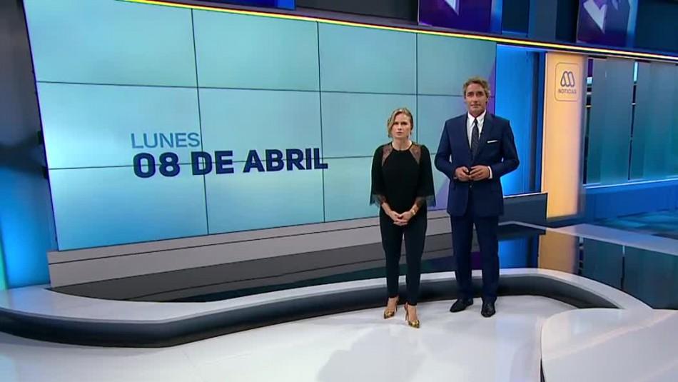 Ahora Noticias Central 8 de abril