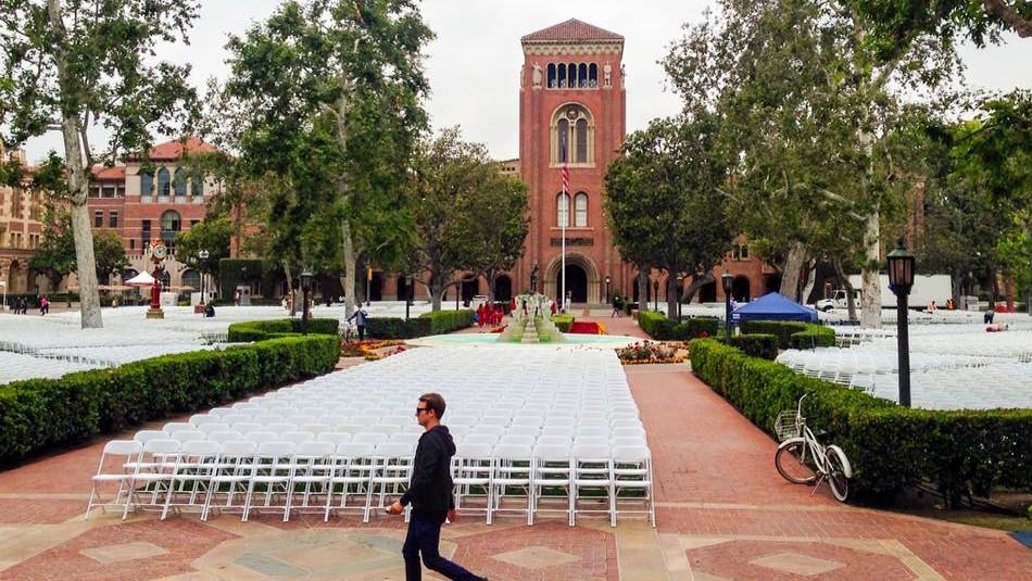 Agustín Huneeus acepto que pagó para que su hija ingresara a la Universidad del Sur de California/ Facebook USC.