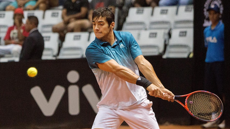 Christian Garín avanzó a octavos de final en torneo ATP 250 de Houston / Agencia UNO.