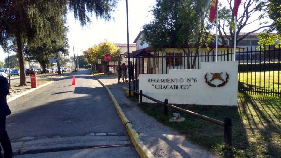 Sujetos concretan violento asalto en recinto militar de Concepción