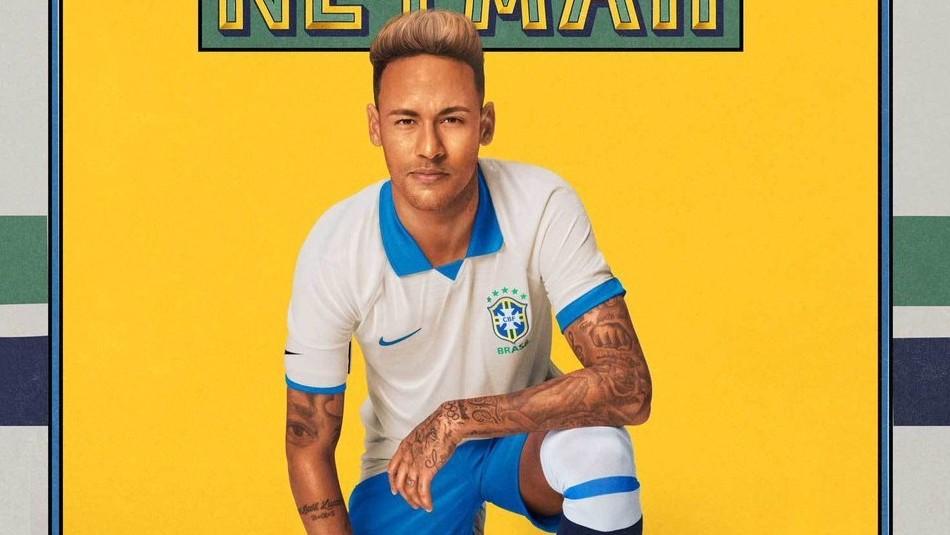 Así luce la indumentaria de Brasil. / CBF