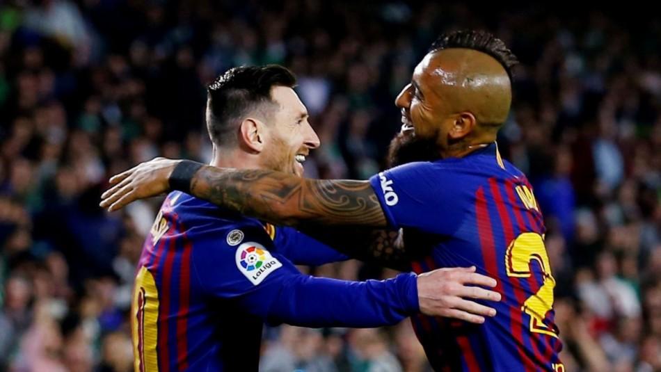 Vidal busca triunfo con Barcelona. / Reuters